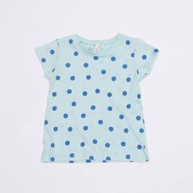 [抗菌防臭]ランダムドットTシャツ (Mint)