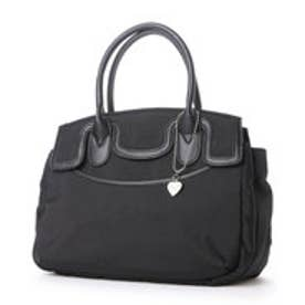 ナイロン系素材のバッグ (ブラック)