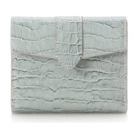 シンプル 折財布 (ミント)