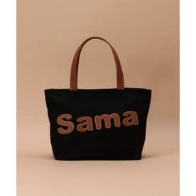 サマンサタバサパッチワークトート 小サイズ (ブラック)
