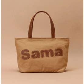 サマンサタバサパッチワークトート 小サイズ (ブラウン)