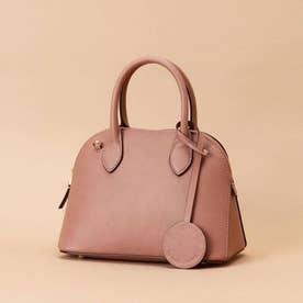 Lady moon  Small (Italian leather handle bag) (ピンクベージュ)