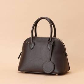 Lady moon  Small (Italian leather handle bag) (ブラウン)