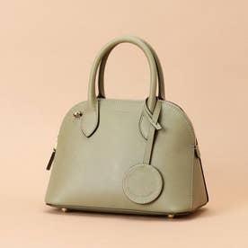 Lady moon  Small (Italian leather handle bag) (カーキ)