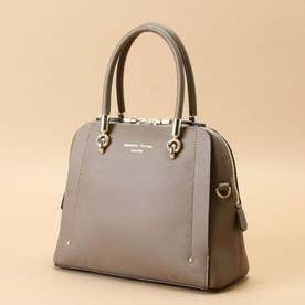 アベクトワ Shoulder(Leather top handle bag) (グレージュ)
