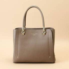 アベクトワ Small(Leather square tote) (グレージュ)
