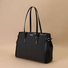 ST Jacquard tote bag (ブラック)