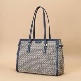 ST Jacquard tote bag (ネイビー)