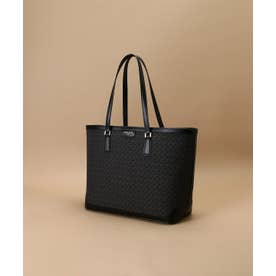 ST Jacquard big tote bag (ブラック)