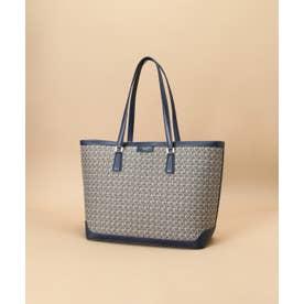 ST Jacquard big tote bag (ネイビー)