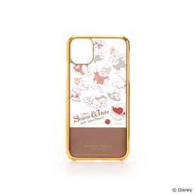 【ディズニーコレクション「白雪姫」】iphoneケース11 ブラウン