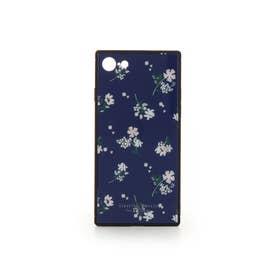 レトロフラワーシリーズ iphone7-8 ネイビー