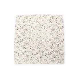 バードフラワースカーフ (ホワイト)