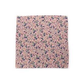 フェミニフラワースカーフ (ピンク)