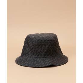 ST Jacquard hat (ブラック)