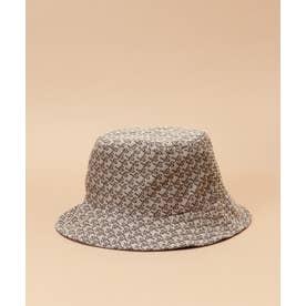 ST Jacquard hat (ブラウン)