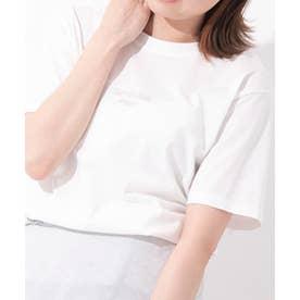 Samantha Green オーガニックコットン混Tシャツ (ホワイト)