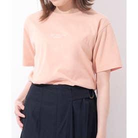 Samantha Green オーガニックコットン混Tシャツ (コーラルピンク)
