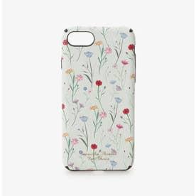 iPhone7-8ケース スプリンクルフラワー (ミント)