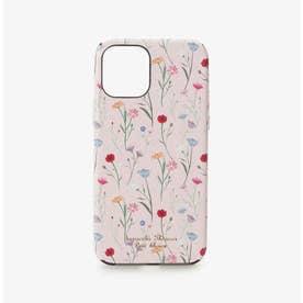 iPhone12-12proケース スプリンクルフラワー (ピンク)