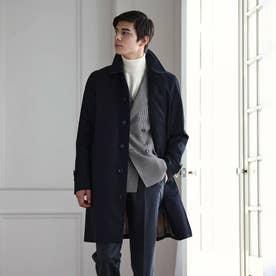 <100年コート>バルマカーンコート(三陽格子) (ネイビー)
