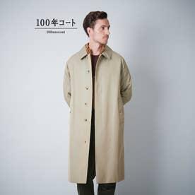 <100年コート>クラシックバルマカーンコート(三陽格子) (カーキ)