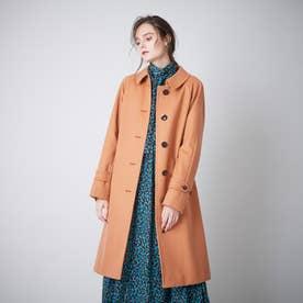<Rain Wool>カシミヤ混バルマカーンコート (レンガ)