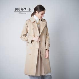 <100年コート>クラシックトレンチコート(三陽格子) (ベージュ)