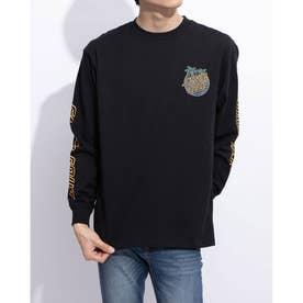 メンズ長袖Tシャツ(ブラック)