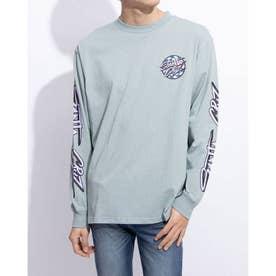 メンズ長袖Tシャツ(ライトブルー)