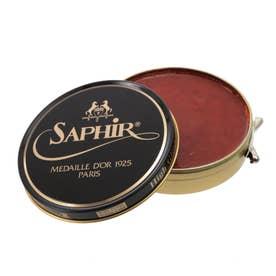 サフィールノワール Saphir Noir ビーズワックスポリッシュ 100ml (コニャック)