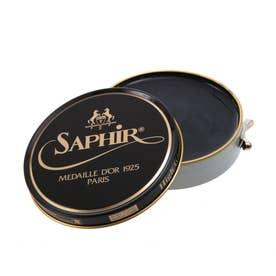 サフィールノワール Saphir Noir ビーズワックスポリッシュ 100ml (グレー)