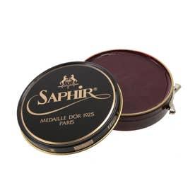 サフィールノワール Saphir Noir ビーズワックスポリッシュ 100ml (マホガニー)