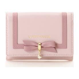 リボンカードケース (ピンク)