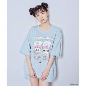 『Esther Bunny』×サマンサベガ- Tシャツ (ライトブルー)