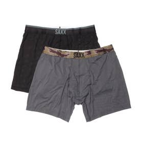 QUEST BOXER BRIEF FLY 2PACKS   【返品不可商品】(BCH)