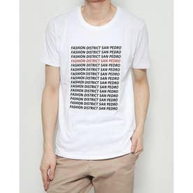小ロゴプリントTシャツ (White)