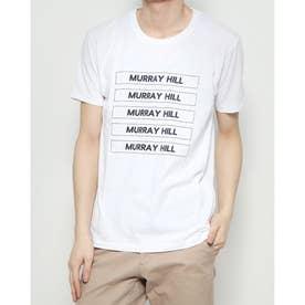 小ボックスプリントTシャツ (White)