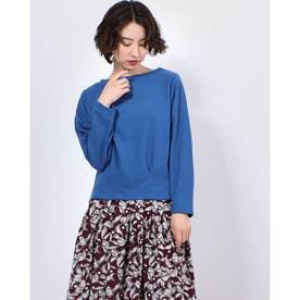 裾タックプルオーバー (Blue)