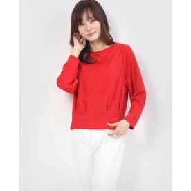 裾タックプルオーバー (Red)