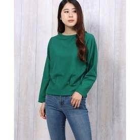 裾タックプルオーバー (Green)