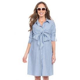 アリアドネラップナーシングシャツドレス (モカベージュ)