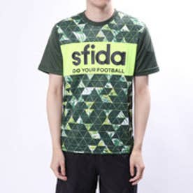メンズ サッカー/フットサル 半袖シャツ 昇華プリントプラクティスシャツ01 SA-18S03