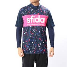 メンズ サッカー/フットサル レイヤードシャツ 昇華プリントプラクティスシャツSET01 SA-18A03
