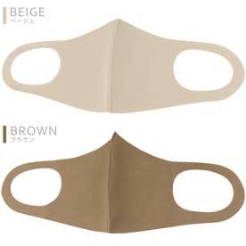 マスク 10枚入り ナイロンファッションマスクMK-4150/4160 【返品不可商品】 (ブラウン)