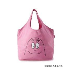 【コラボ/数量限定】バーバパパ ポケッタブルエコバッグ (ピンク(072))