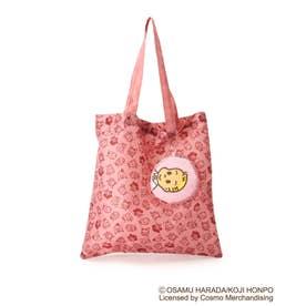 【コラボ】OSAMU GOODS ポーチ付きコンパクトトートバッグ (ピンク)