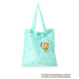 【コラボ】OSAMU GOODS ポーチ付きコンパクトトートバッグ (グリーン)