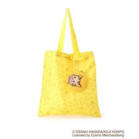 【コラボ】OSAMU GOODS ポーチ付きコンパクトトートバッグ (イエロー)