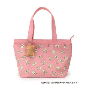 【コアラのマーチ】ランチトートバッグ (ピンク)
